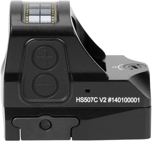 Holosun HS507C V2, Multi-Reticle